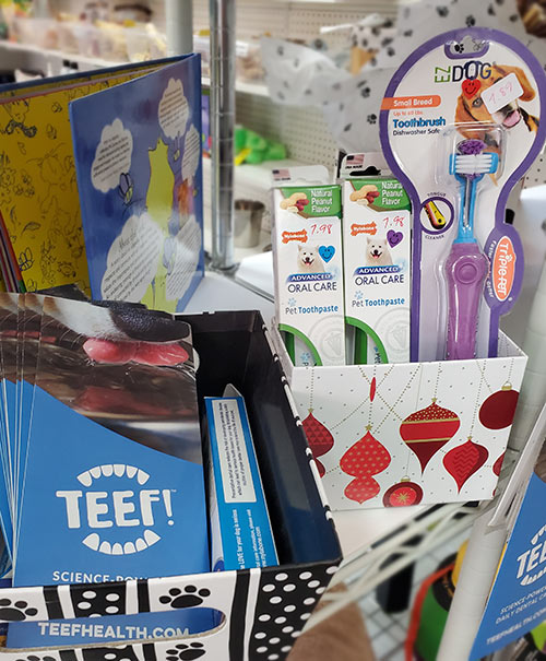 Health and Grooming supplies for pets, Teef