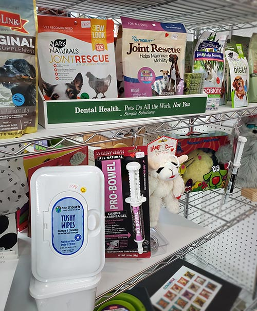 Health and Grooming supplies for pets