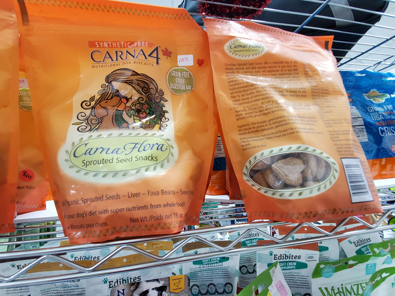 Carna4 Synthetic Free Carna Flora Sprouted Seed Snacks
