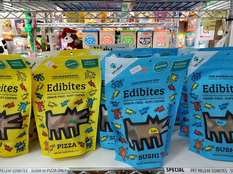 Edibites Organic Dog Treats