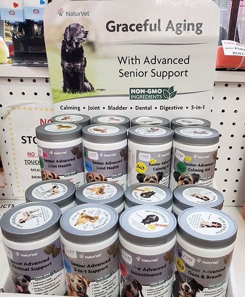 Graceful Aging Senior Pet Supplements at Cats n Dogs store