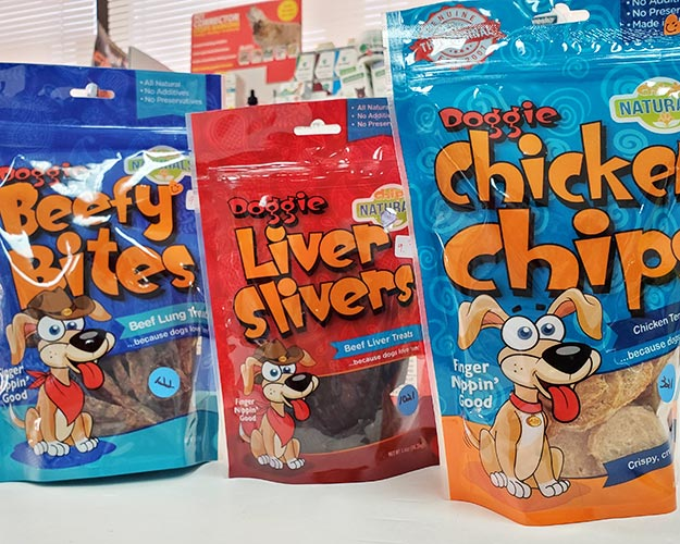 Doggie snacks at Cats n Dogs