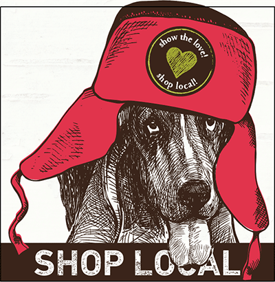 Small Business Satuirday Shop Local icon, from Earth Animal